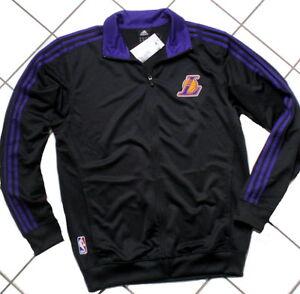 Adidas-la-lakers-nba-baloncesto-Los-Angeles-Team-Chaqueta-Chaqueta-de-deporte
