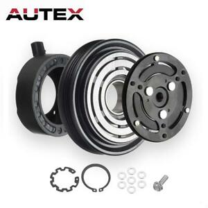 AC A/C Compressor Clutch Kit Pulley Bearing Coil Plate Fit 05-09