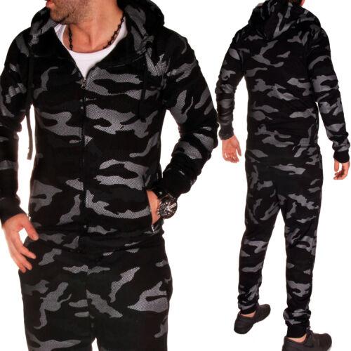 Camouflage Army Hose Jogging Neu Jacke A8 Sportanzug Jogginganzug Herren Fitness 06wq7fwY