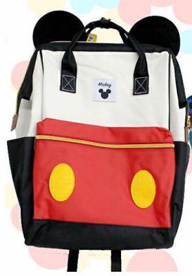 Tokyo Disney Resort Mickey Face Hamburger Shoulder Bag Handbag Backpack F//S NEW