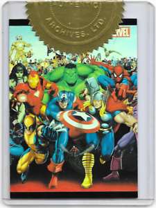 Marvel 70th Anniversary Official Rittenhouse Binder