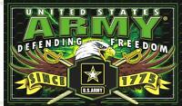Army Strike Force Freedom 3 X 5 Military Flag Banner 582 Biker United States
