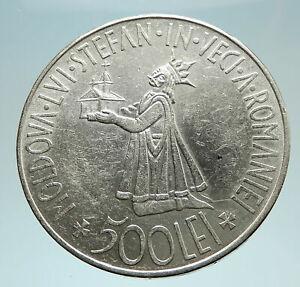 1941-ROMANIA-Michael-I-Romanian-Lady-amp-Bird-Antique-Genuine-Silver-Coin-i76639