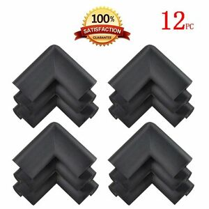 12 EXTRA THICK WIDE Baby Edge Guard foam Protector Bumpers Corner Cushion USA