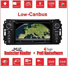 Android 5.1 Autoradio Naviceiver :Dodge Jeep Chrysler Grand Cherokee Low Canbus