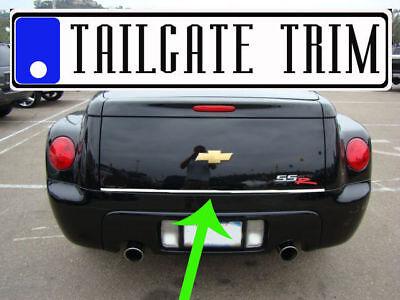 Dodge STRATUS 2001 2002 2003 2004 2005 2006 Chrome Tailgate Trunk Trim Molding