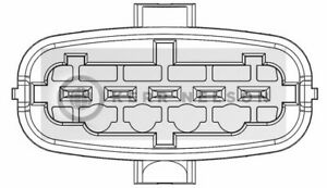 Per VOLVO S40 2004 /& gton 2.4 NUOVO MASSA Air Flow Meter sensor