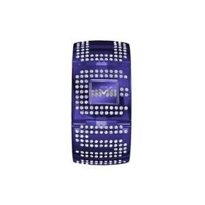 Orologio-femminile-Guess-Bangle-W18534L2-Bracciale-brillantini-viola-elegante
