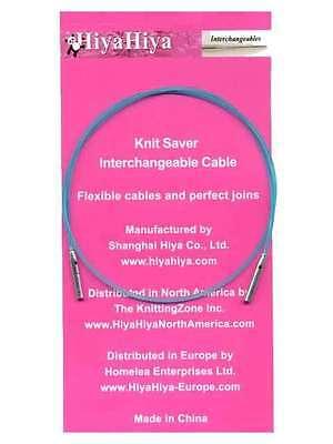18//20 Large Hiya Hiya Knit Saver Cable 46cm//50cm