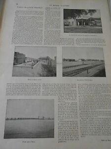 1899 Article De Presse L'oeuvre Du Général Annenkoft Doux Et Doux
