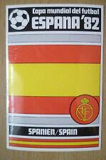 1982 COPA MUNDIAL DEL FUTBOL STICKER- SPANIEN/ SPAIN- ESPANA 82 (12x8 cm)