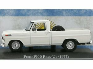 FORD F100 Pick up - 1972 - white - Atlas 1:43