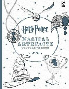 Harry-Potter-Magical-Artefacts-Colouring-Book-4-Paperback-New-9781783705924