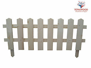 Steccato Per Giardino : Staccionata per giardino aiuola cm h ebay