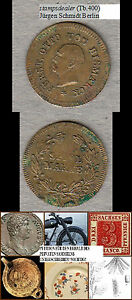 Fürst Otto von Bismarck Spielmarke Nürnberger Rechenpfennig ca. 15,5 mm
