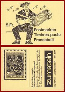 Schweiz-1984-Volksbraeuche-postfrisches-Markenheft-MNH-Mi-0-78i-SBK-0-78b
