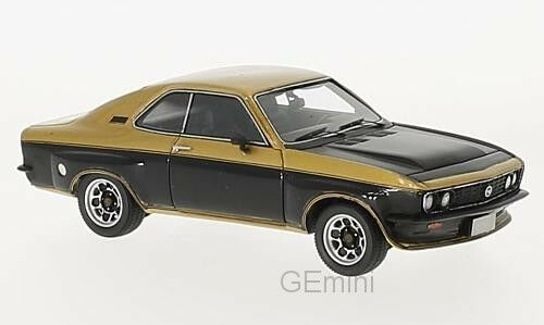 Opel TE 2800 doré//noir 1974 1//43 NEO