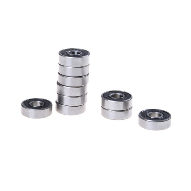 10PCS 8X22X7 MM 608 2RS Bearing ABEC-5 Skateboard 3d printer Ball Bearings NT