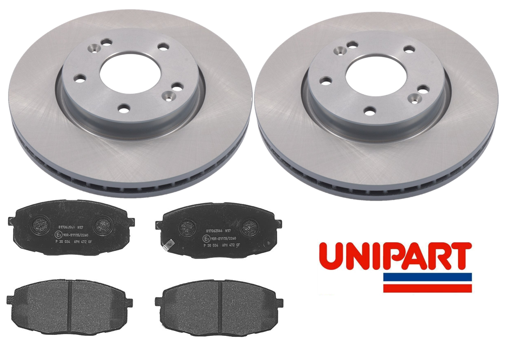FRONT /& REAR BRAKE DISCS AND PADS SET FOR KIA CEED 1.4 1.6 1.6 CRDi 2007-2012