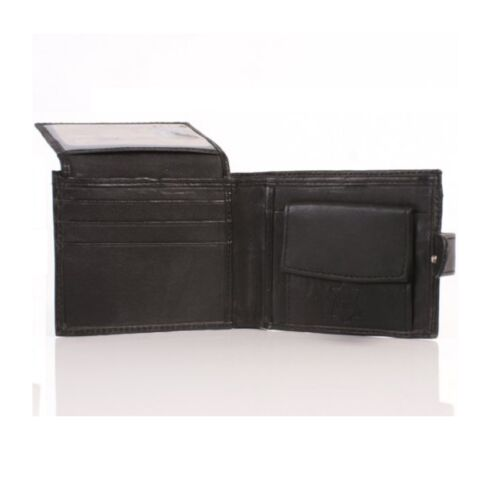 Mens Genuine Leather Sheep Nappa Wallet//Leather Wallet  Gents Leather Wallet-43W