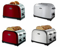 Oster Brushed 2/4-slice Toaster, 2 Colors