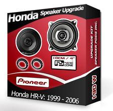 Honda HR-V Rear Side Shelf speakers Pioneer car speaker kit + adapter pods 190W