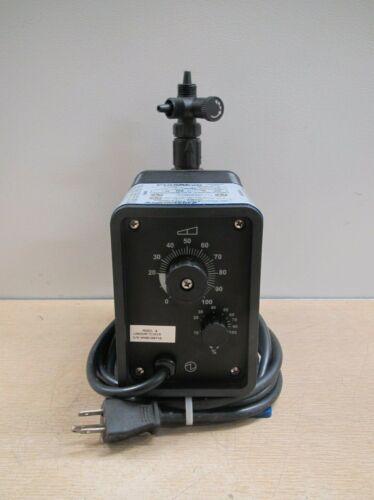Pulsatron Pulsafeeder LB03SA-PTC1-G19 115V 12GPD 150PSI Electronic Metering Pump