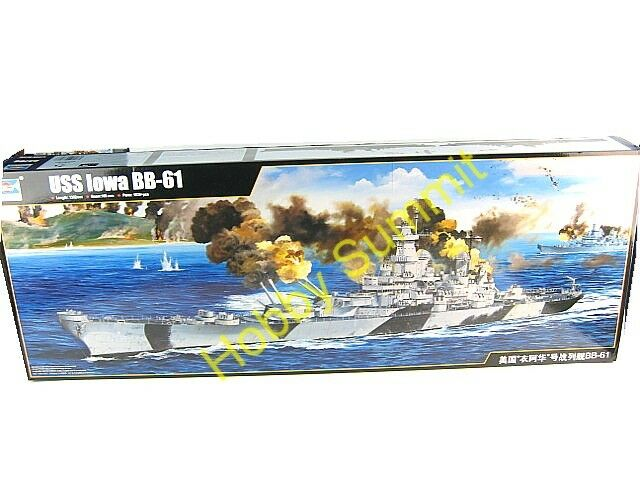 Trumpeter  1/200  IOWA  BB-61 Battleship  WWII U.S. Navy Plastic Model Kit 03706