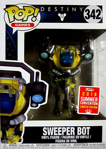 Limited Edition Schnelle WäRmeableitung Funko Pop Destiny Sweeper Bot