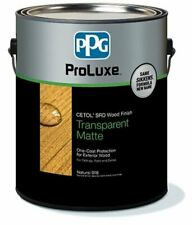 Ppg Proluxe Srd Transparent Matte Wood Finish Gallon