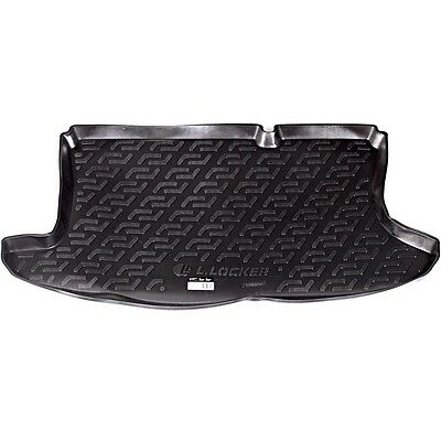 Ford Fusion 2002 onwards black tailored car boot mat liner L8081
