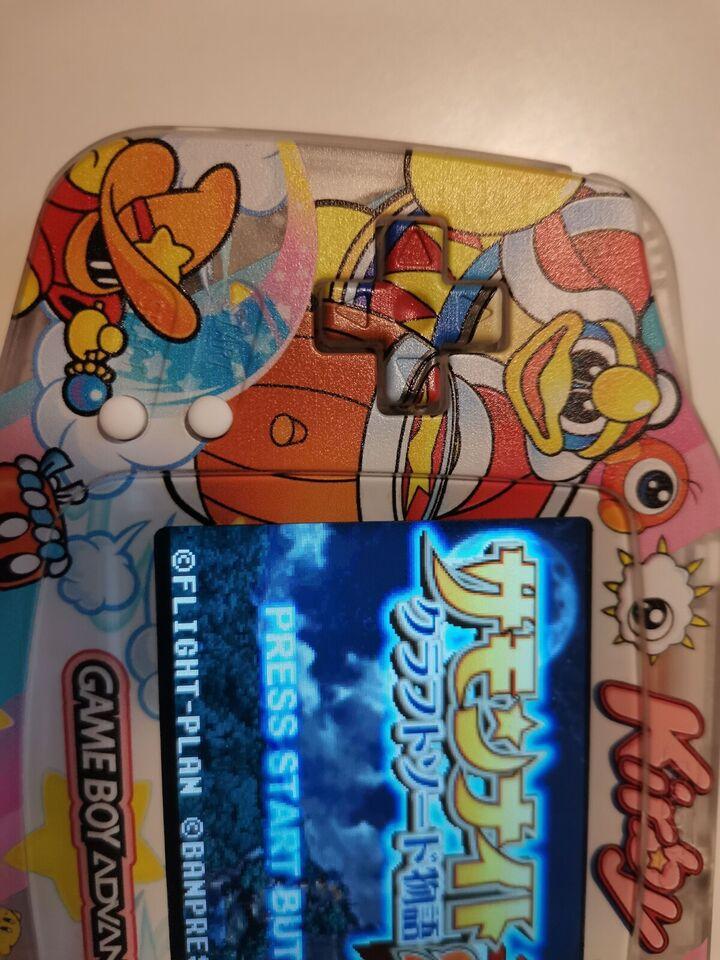 Nintendo Gameboy advance, Kirby IPS, Perfekt
