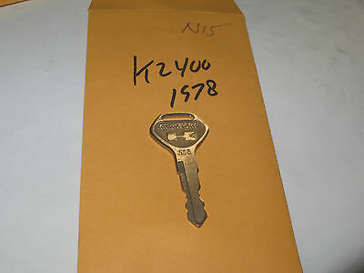 NOS KAWASAKI KZ650 PRE CUT KEY SET PART# 820 PART# 27008-068-20
