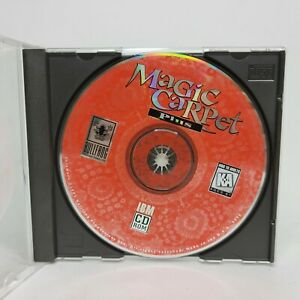 Magic Carpet Plus PC CD-Rom Game 1995 Bullfrog Productions Disc Only VERY GOOD