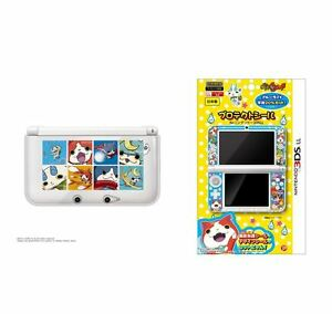 Youkai-Watch-NINTENDO-3DSXL-hard-cover-Protection-sticker-From-Japan
