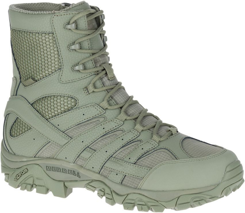 MERRELL Moab 2 8  Waterproof J17711 Tactical Military Army Combat Boots Mens
