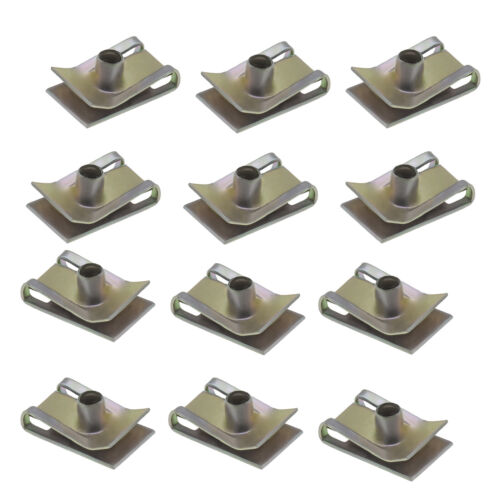 20 Pcs M6 Chimney U Nuts Spire Clips for Motor Vehicles Domestic Appliances