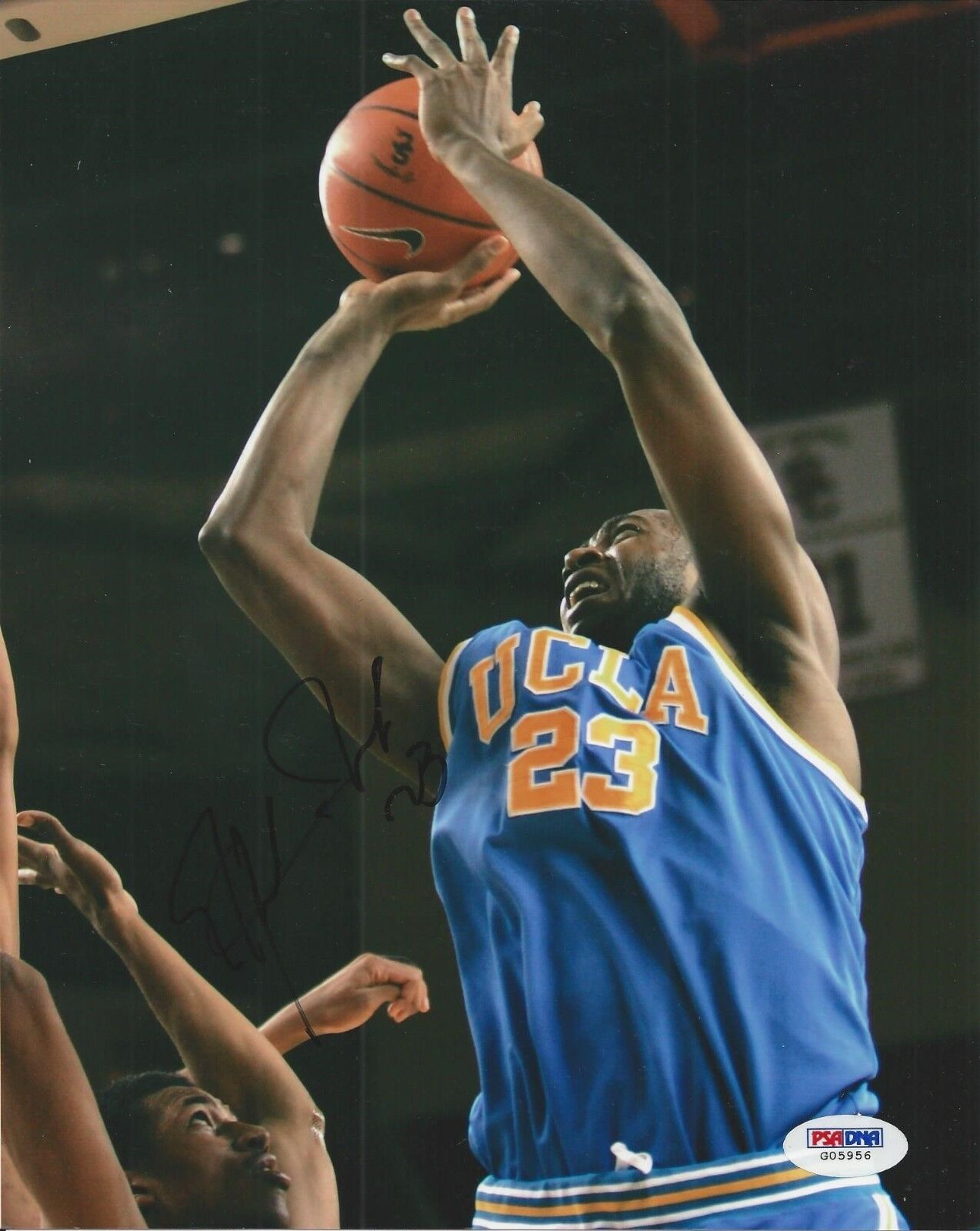 Luc Richard Mbah A Moute signed UCLA Bruins 8x10 photo PSA/DNA # G05956