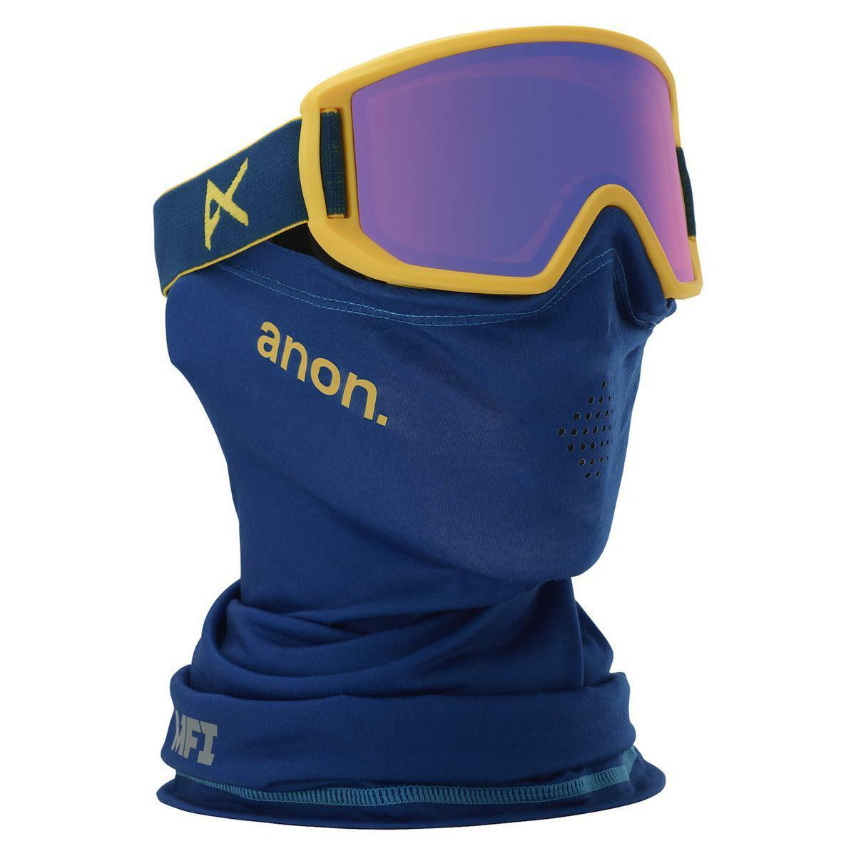 Anon Relapse Jr  MFI Goggles bluee bluee Amber  store sale outlet
