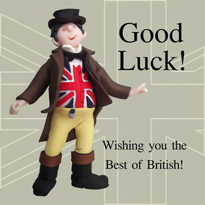Best of british funny olde worlde good luck card erica sturla image is loading best of british funny olde worlde good luck m4hsunfo