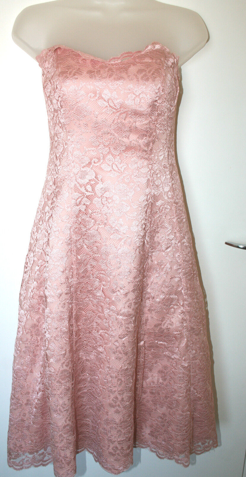 Debenhams Debut UK8 EU36 new Rosa lace prom dress with boned bodice