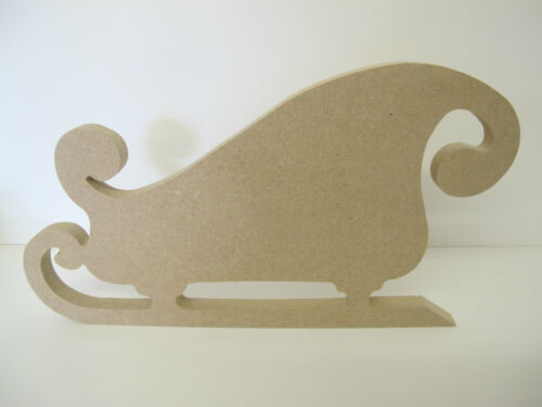 Christmas Sleigh.Freestanding Quality 12mm Thick 150mm High 280mm Wide