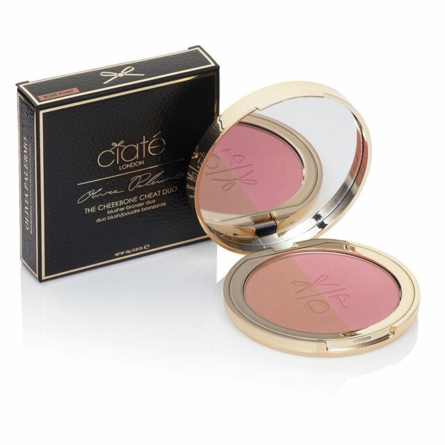 Ciate London Olivia Palermo Cheekbone Cheat Blush/Bronzer Duo NIB Seaside Park