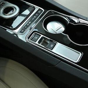 Details About Interior Car Electronic Parking Handbrake Cover Trim For Jaguar F Pace 2016 2018