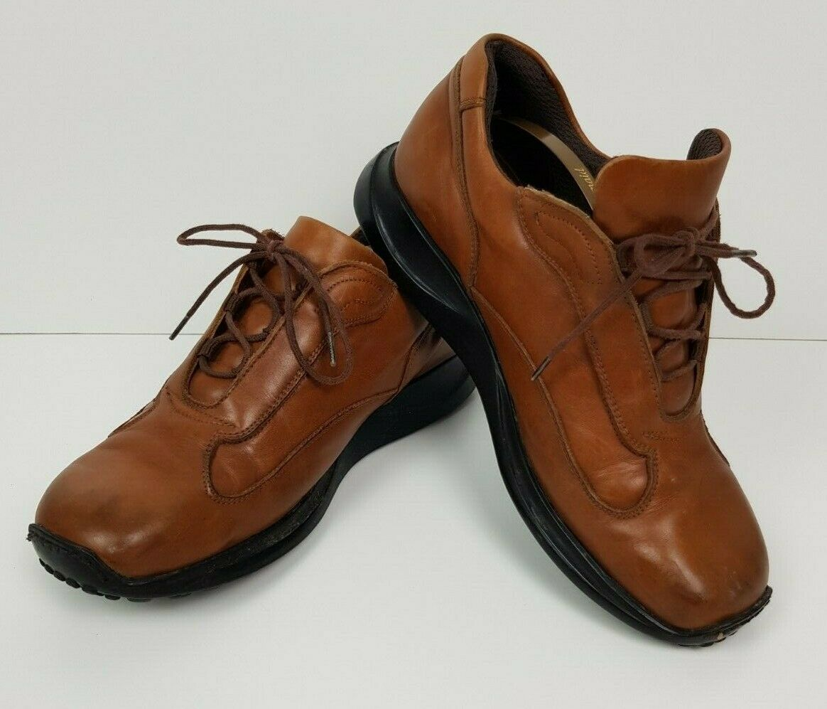G6 JONES BOOTMAKER SIZE UK 7 EU 39 MENS BROWN LEATHER LACE UP SHOES CASUAL