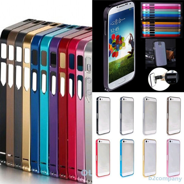 Ultra-thin 0.7mm Colored Aluminum Metal Blade Bumper Frame Case For phones