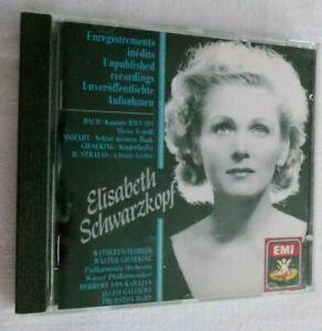 CD-Elisabeth-Schwarzkopf-Soprano-Bazch-Mozart-Gieseking-R-Strauss
