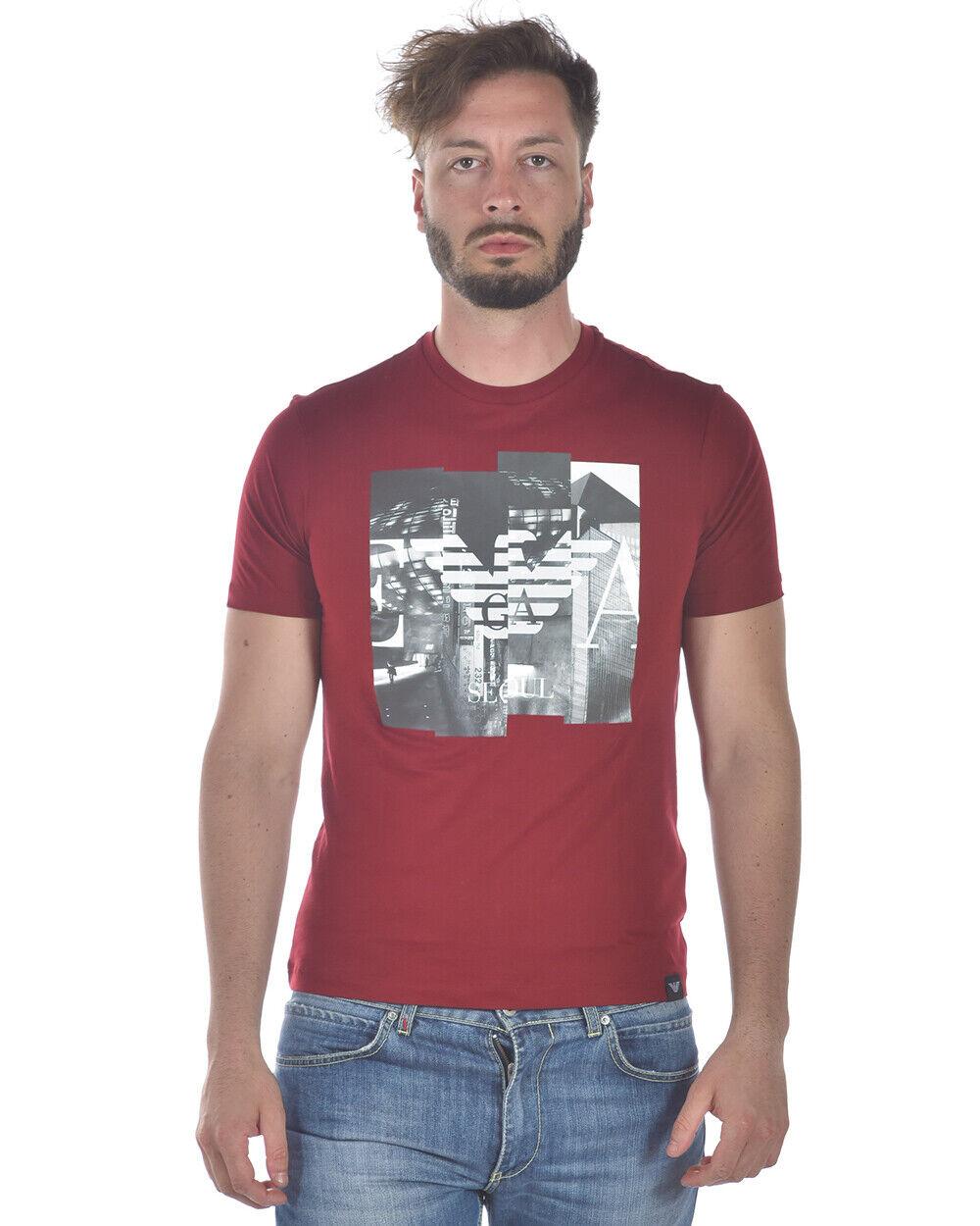 Emporio Armani T hemd schweißhemd baumwolle Man rot 3Z1T751JPZZ 340 Sz S MAKE OFFER