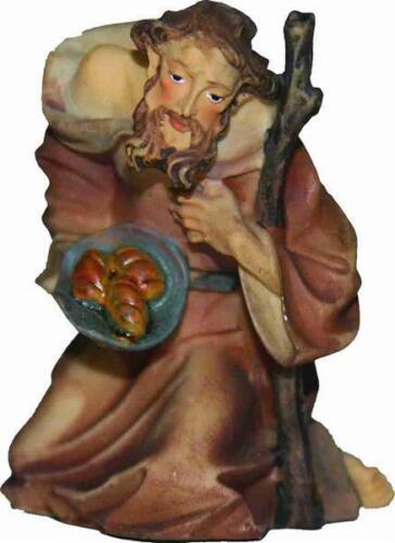 Mathias Krippenfiguren Hirte mit Stab kniend für Figuren der Größe ca 7cm