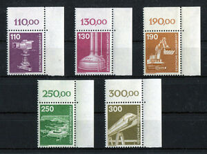 Bund-1134-1138-Eckrand-postfrisch-Ecke-2-BRD-Industrie-und-Technik-1982-MNH